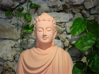 Buddha, Plum Village Monastery, France