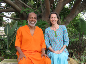 Swami Suddhananda and Leela
